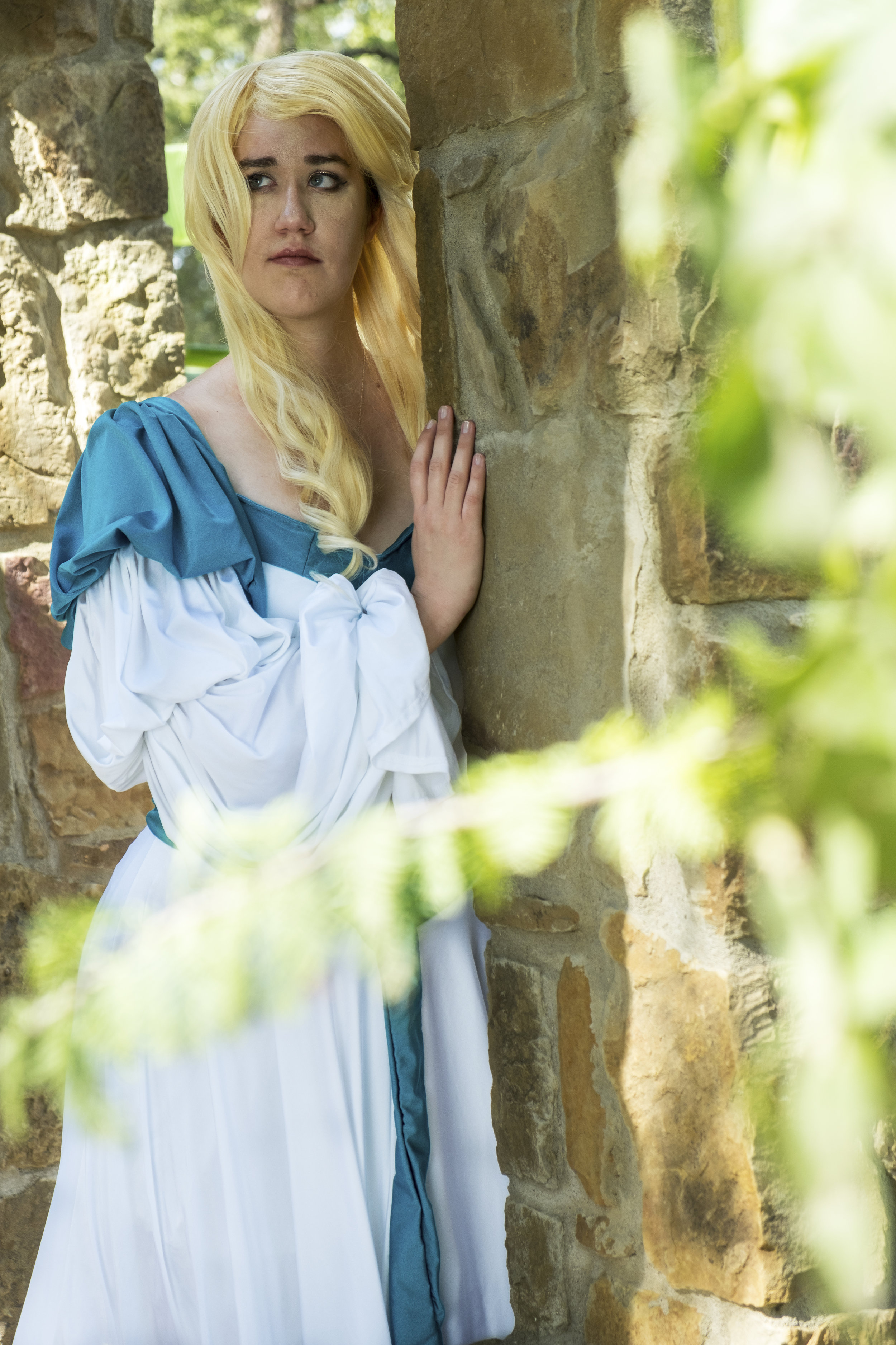 Rebecca of Twin Thrones Cosplay in Odette cosplay at Krause Springs