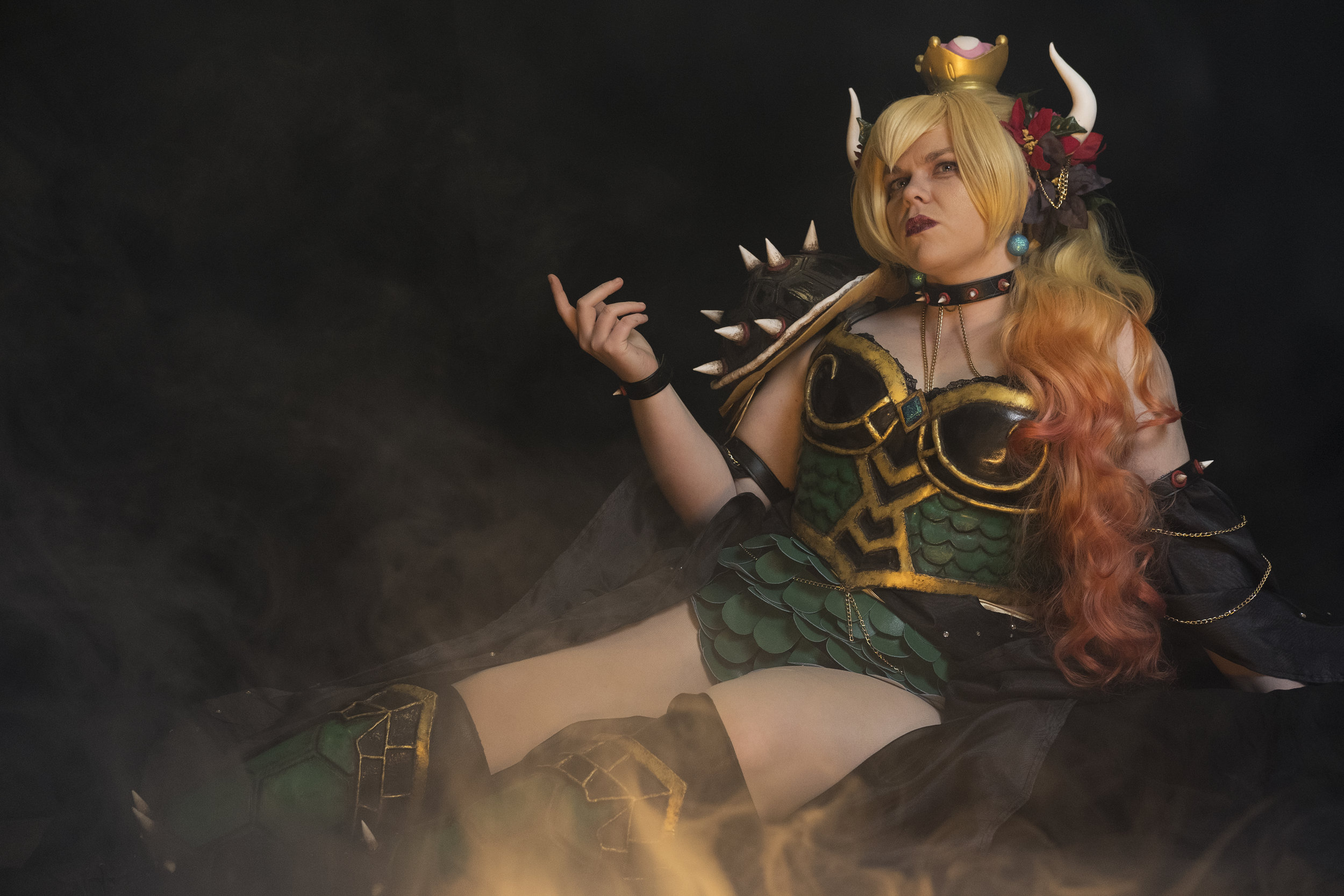 Tacocat Cosplay cosplaying as Hannah Alexander's Bowsette
