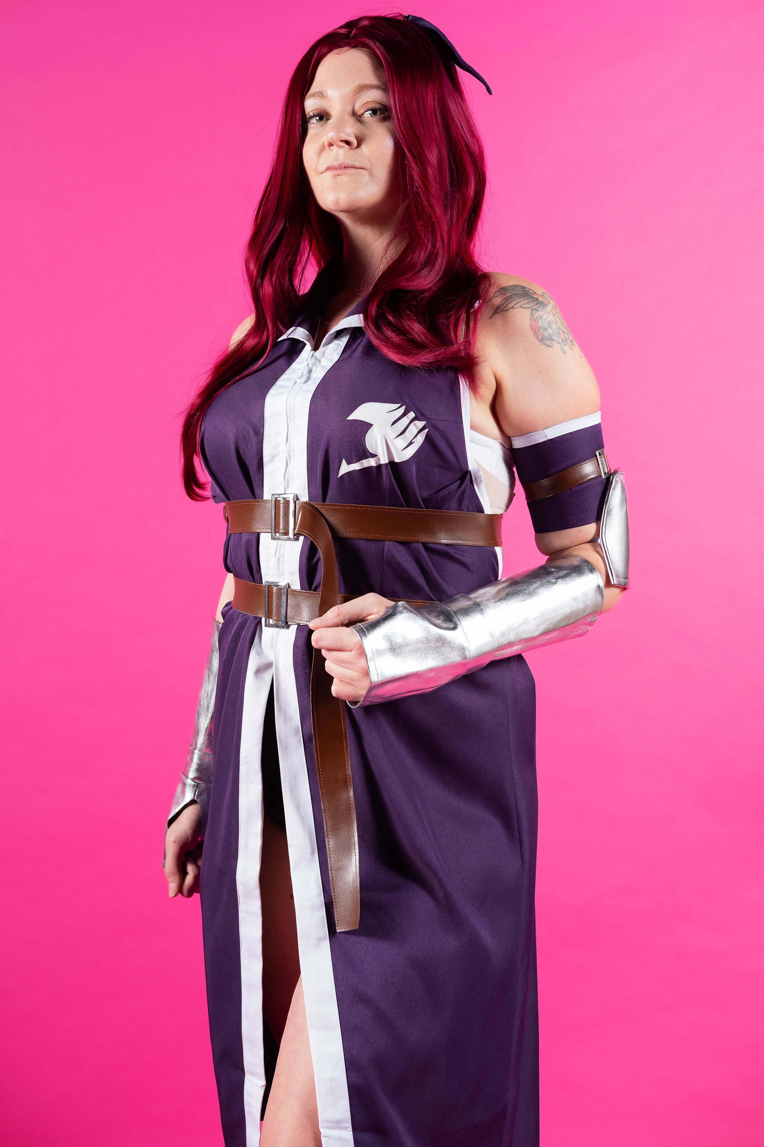 Allybelle Cosplay cosplaying as Erza Scarlet from Fairy Tail