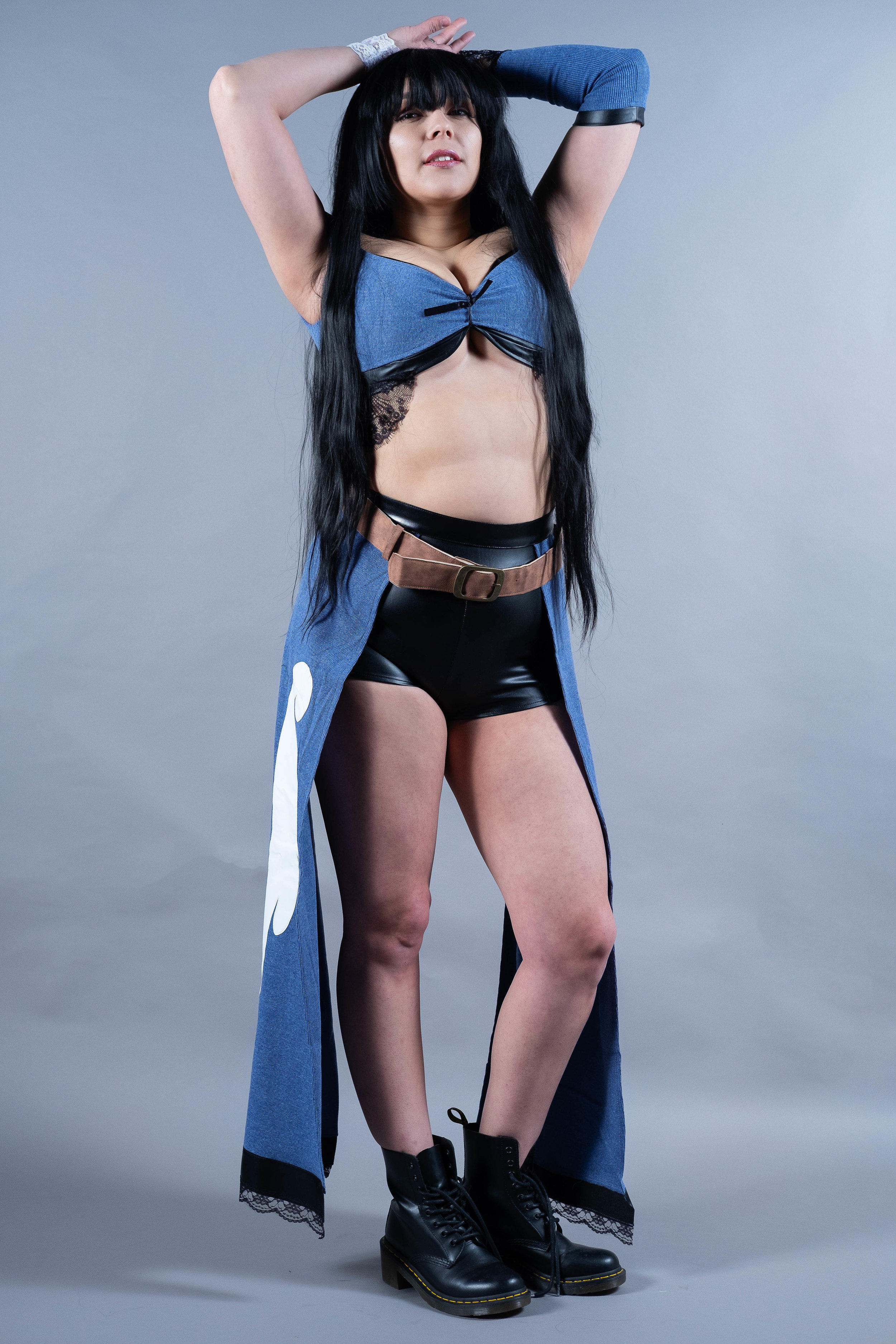 Mermaid Child cosplaying as Rinoa Heartilly from Final Fantasy 8