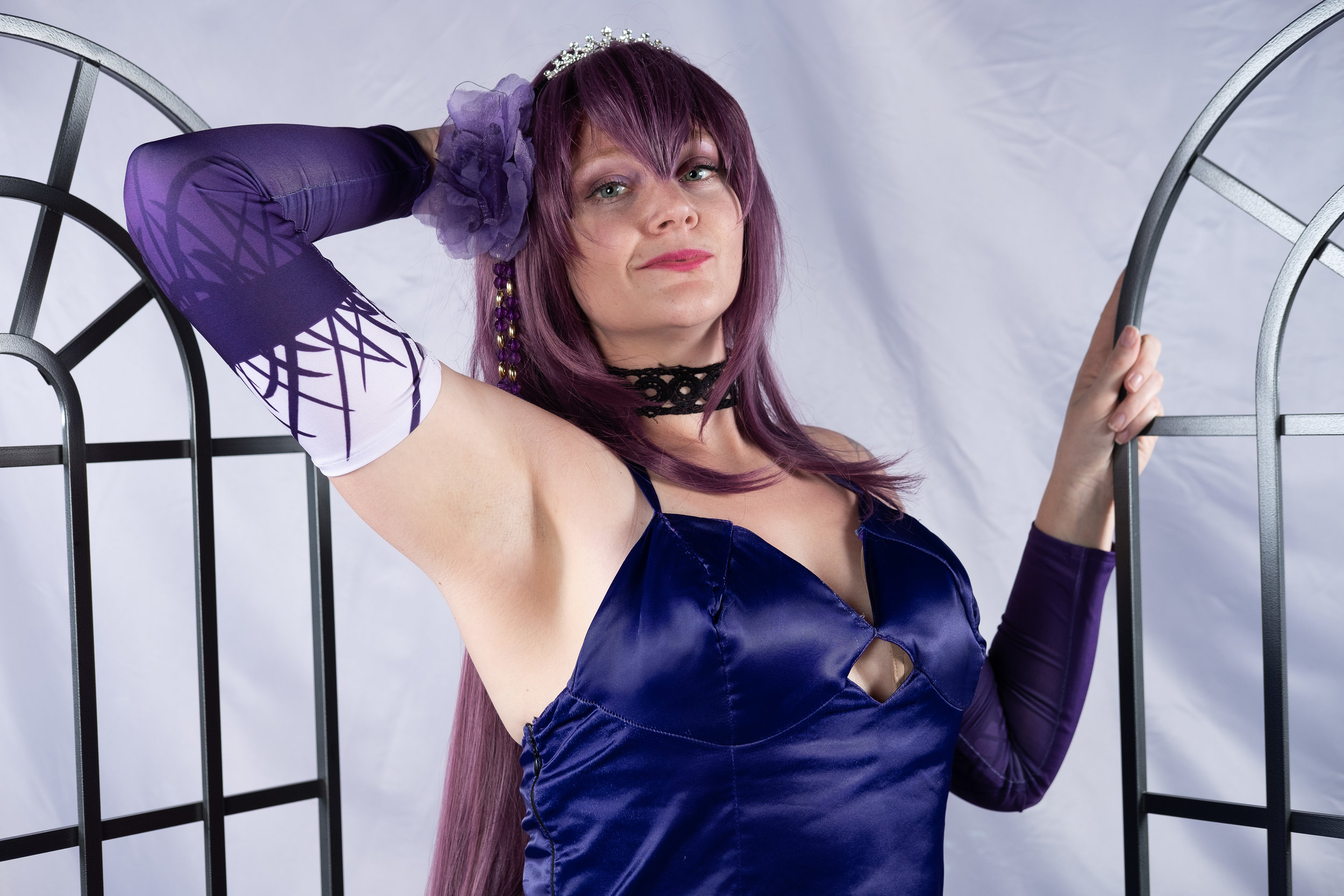 Allybelle Cosplay cosplaying as Scathach from Fate/Grand Order