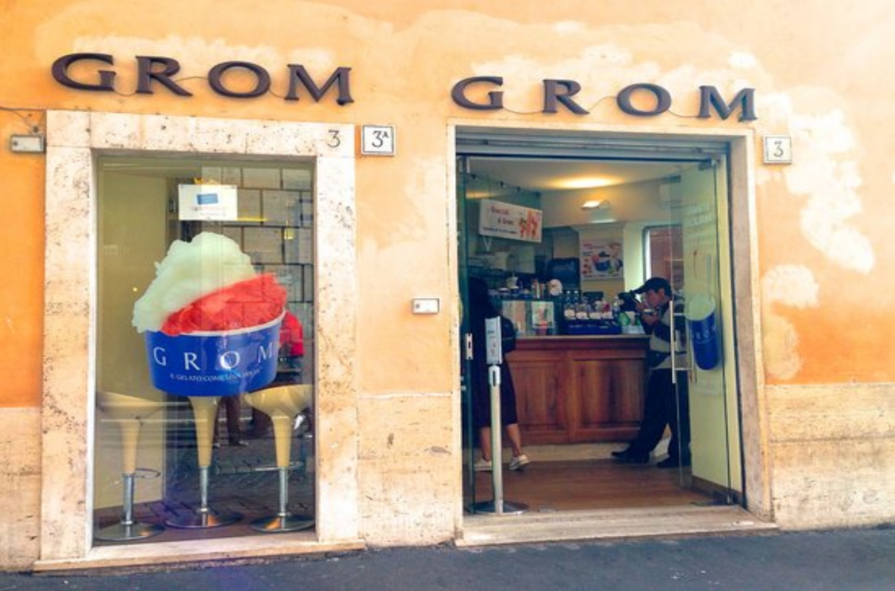 grom - Grom is a much-loved-by-locals Italian gelato chain. It's consistently delicious and available all over town. (and Italy)