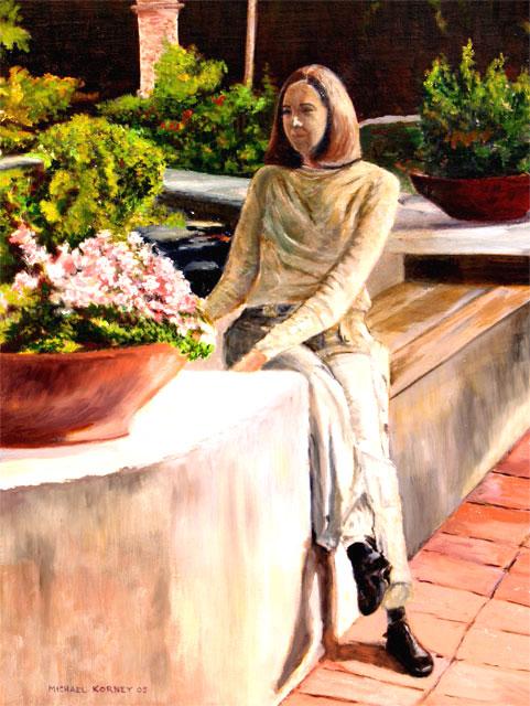 Ellen at San Juan Capistrano