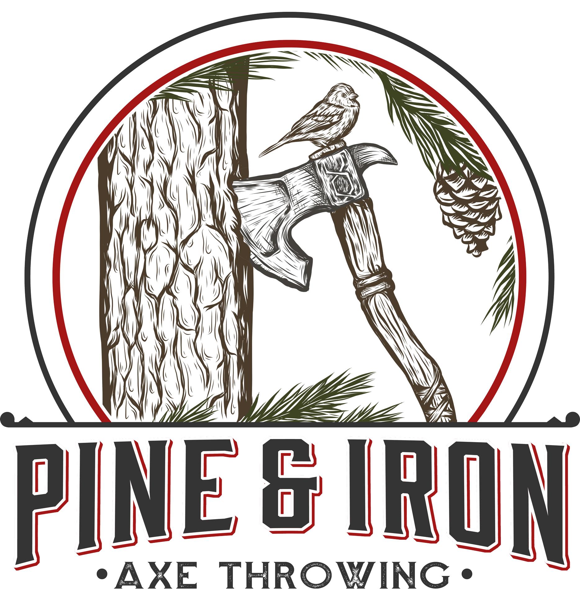 pine_and_iron_axe_throwing_logo_main