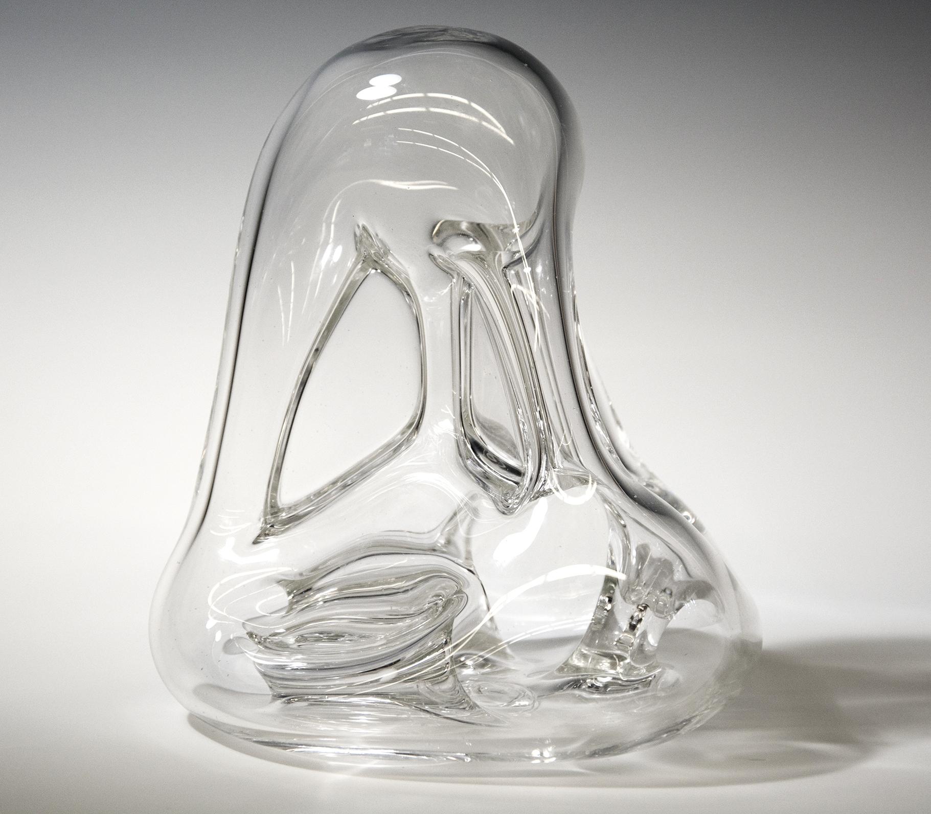 """Untitled , Blown Glass, 10"""" x 10"""" x 14"""""""