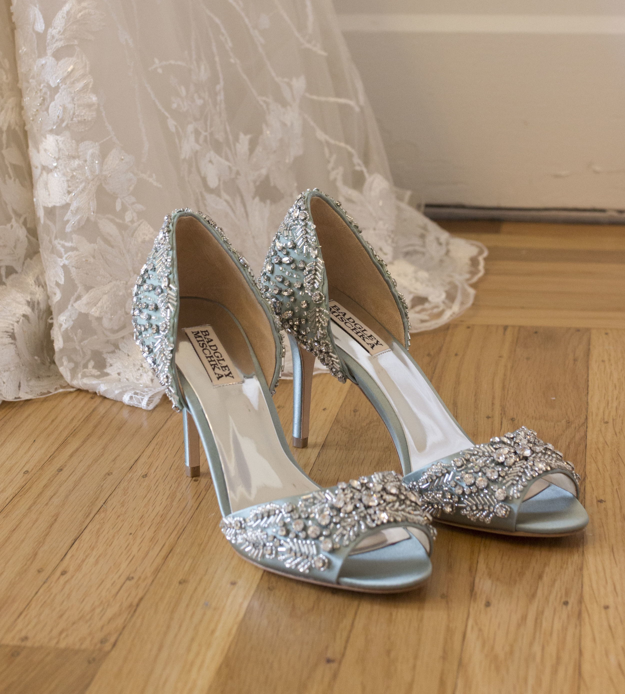 Bridal Shoes at Wine Country Bride Boutique