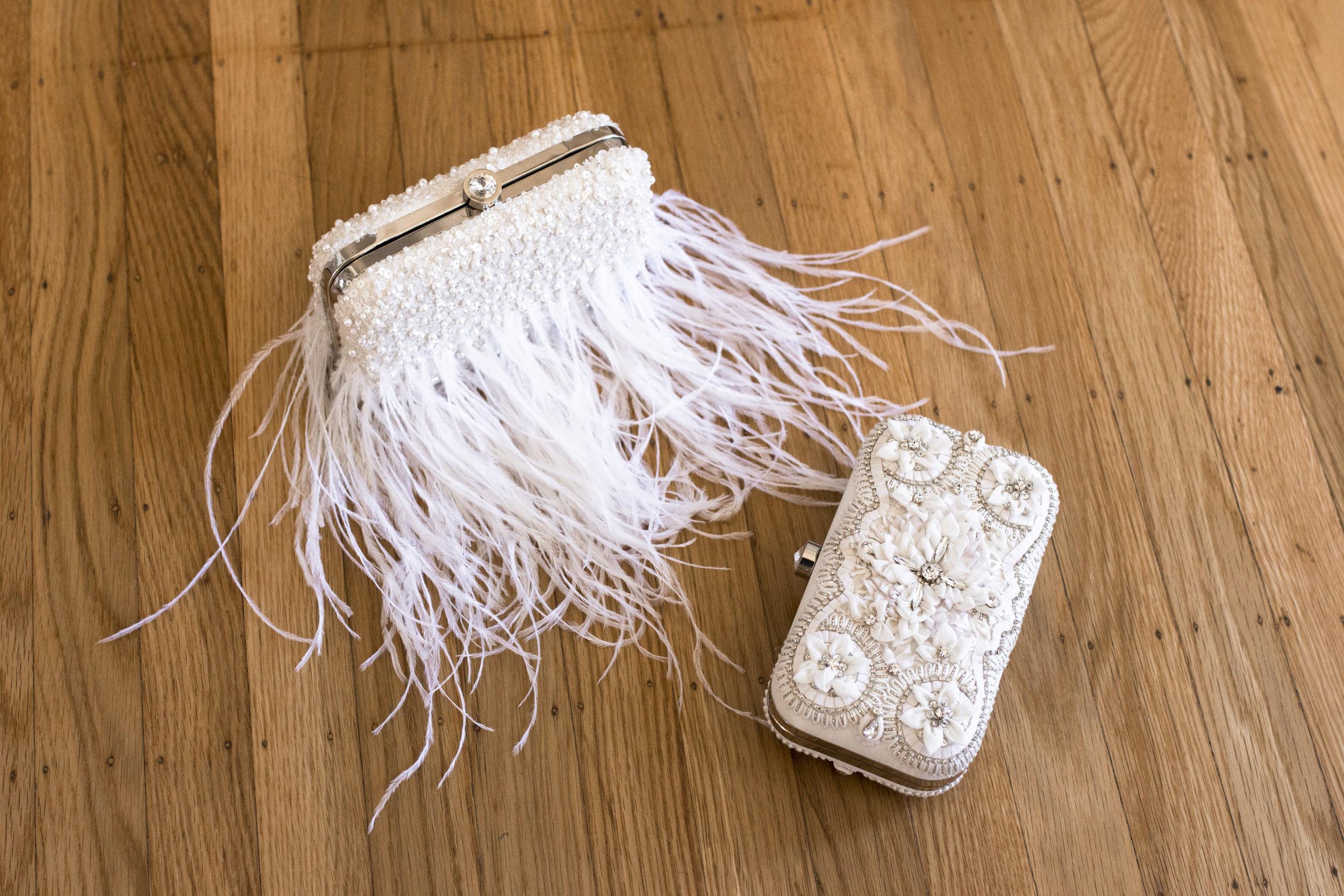 Evening wear clutch bags | Wine Country Bride Boutique | Bridal Shop in Santa Rosa