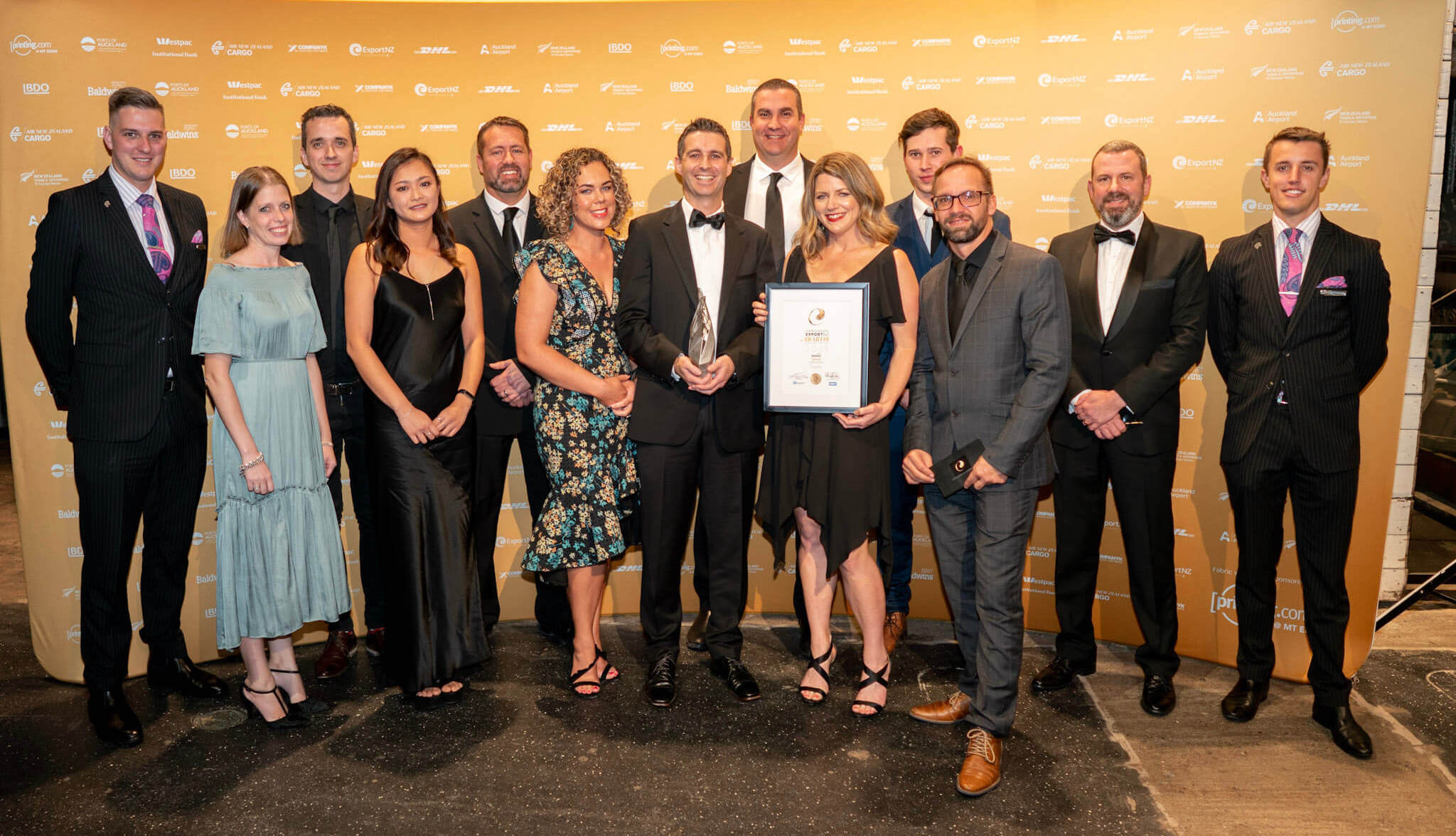 FaceMe win Export NZ Excellence in Innovation Award 2019