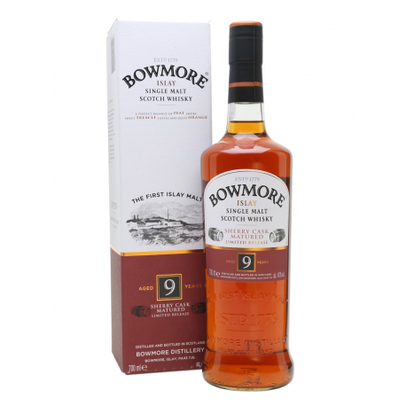 Bowmore 9 Sherry Cask Whisky