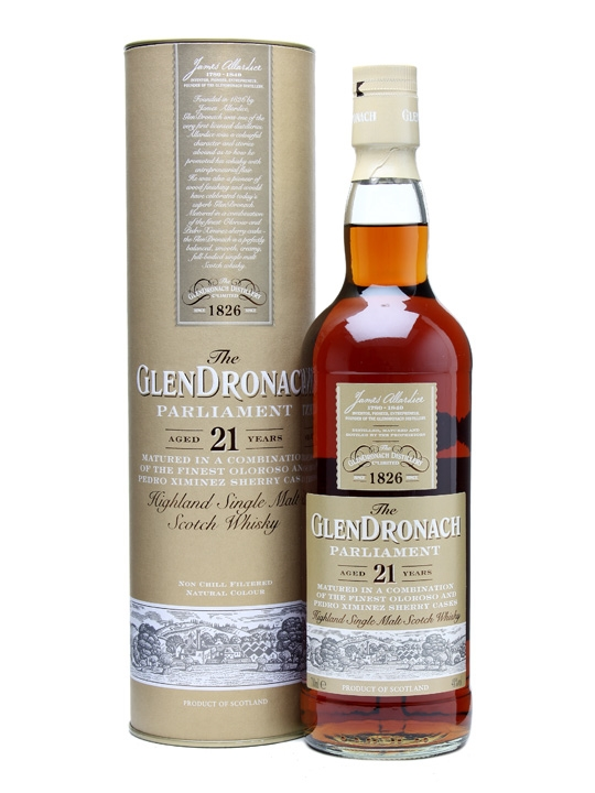 Glendronach 21 Parliament Whisky