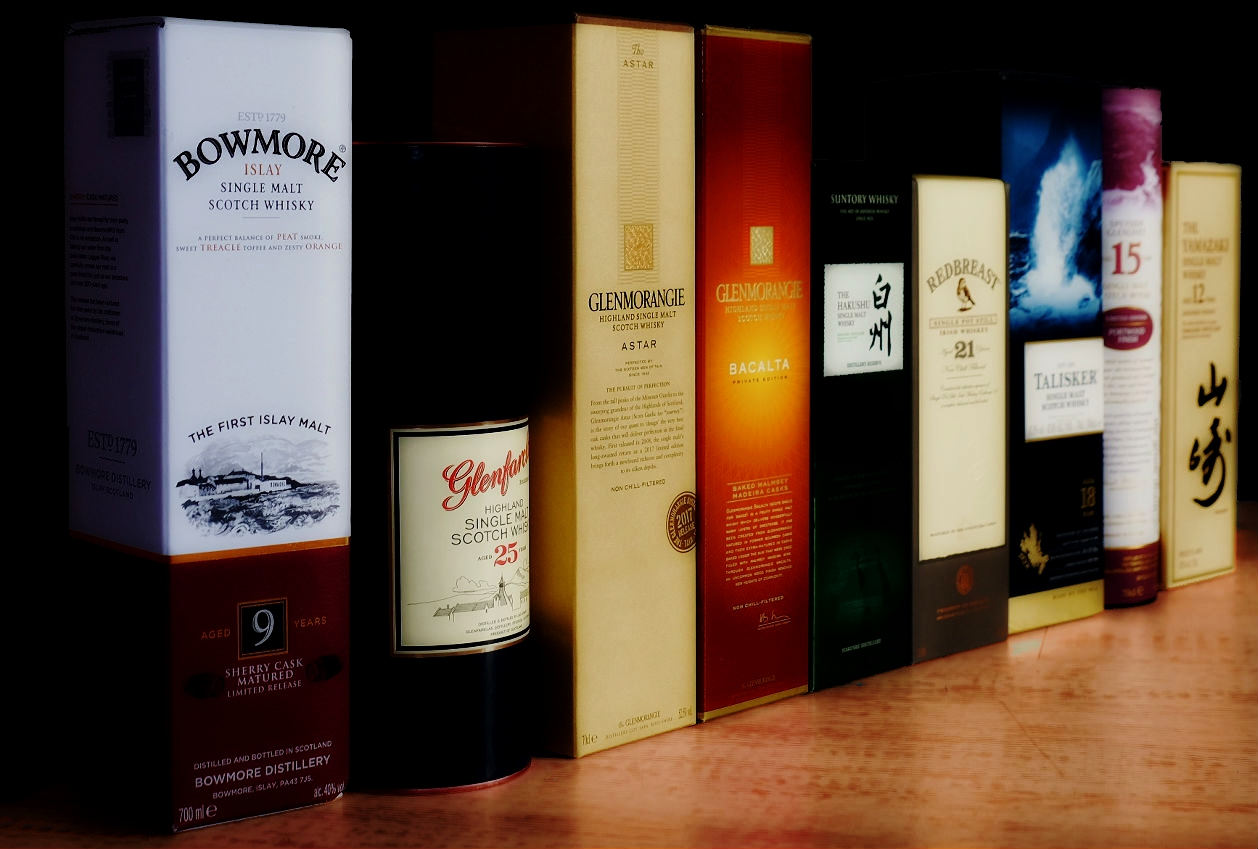 Selection of Whiskies 2017