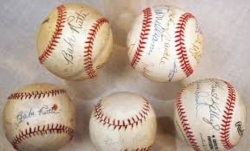 baseball autograph gifts for him