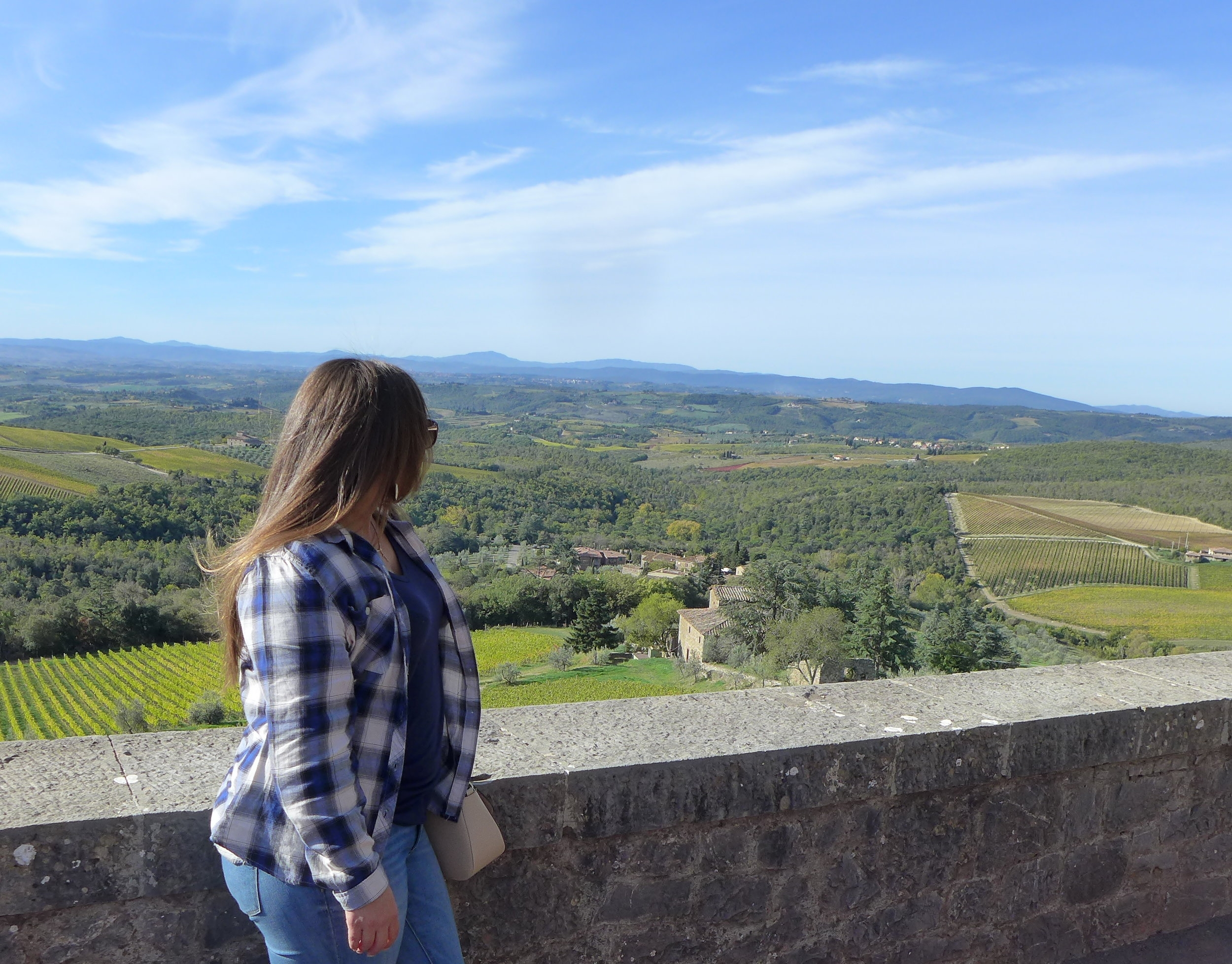 Me in Tuscany, Italy