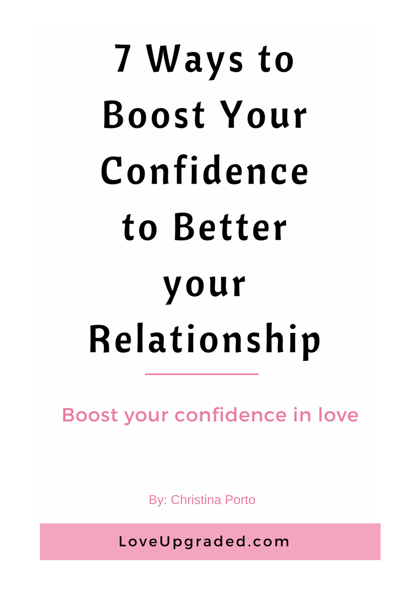 Confidence boosters for your relationship