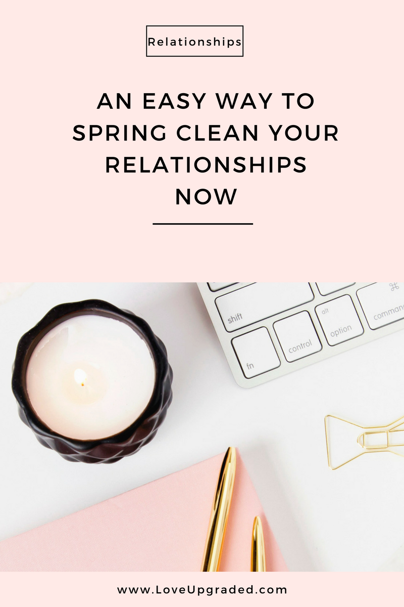 Pinterest an easy way to spring clean your relationships now
