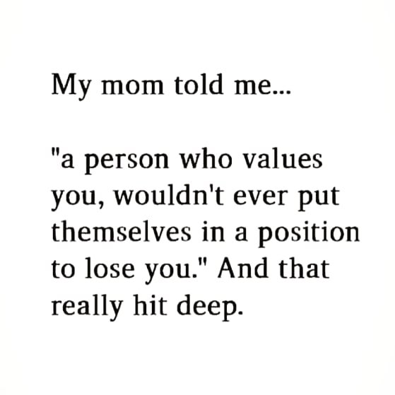 Moms know best. Lesson learned❣