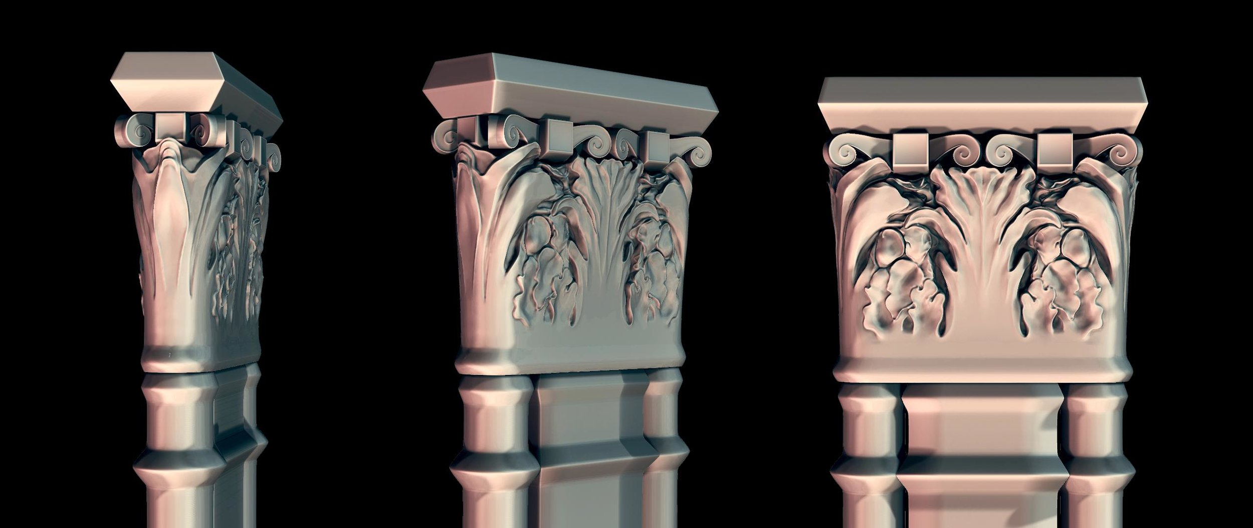ornate pillar