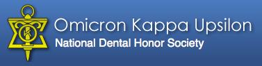 Member of the Omicron Kappa Upsilon National Dental Honor Society