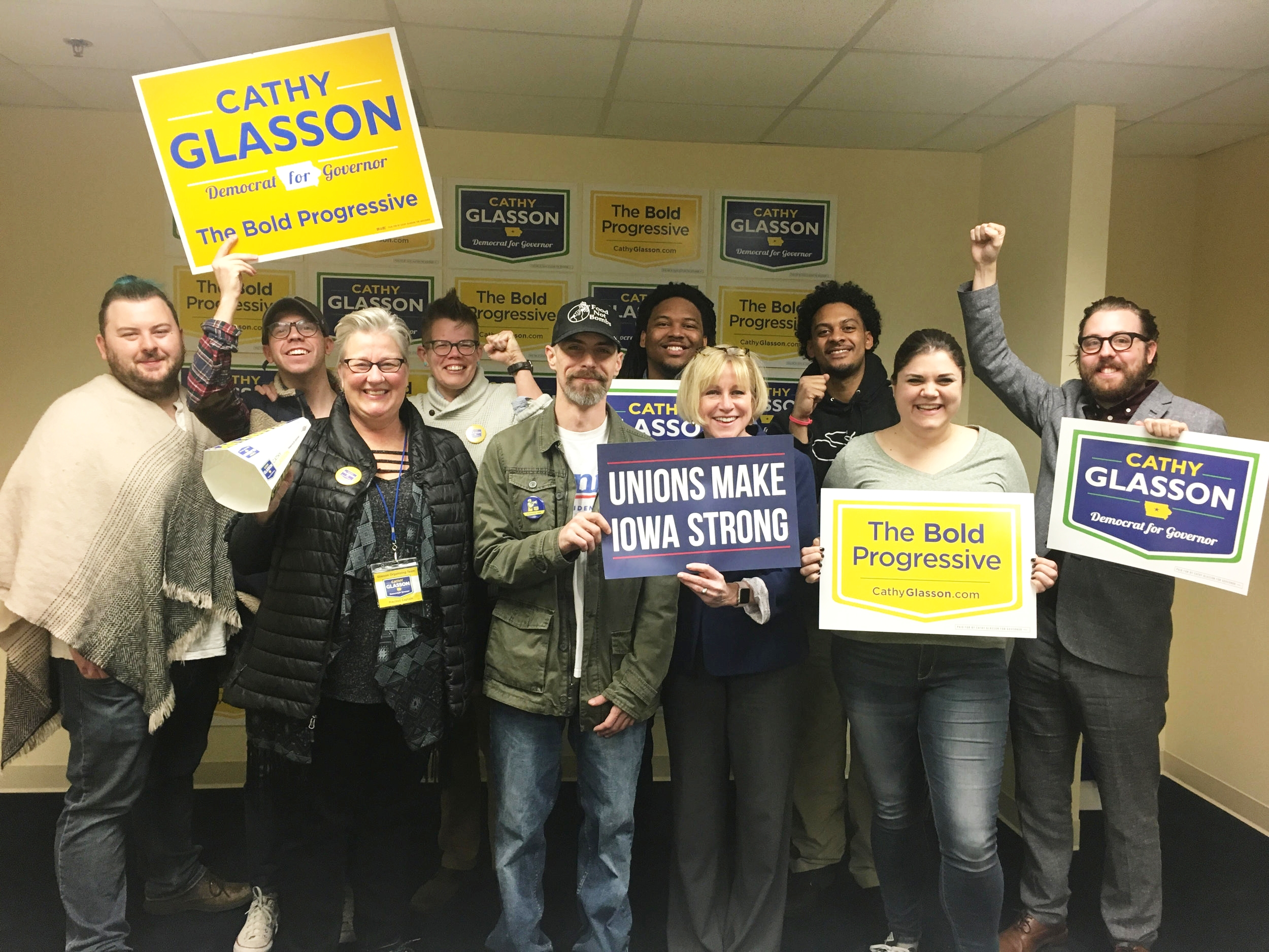 CATHY GLASSON FOR GOVERNOR -