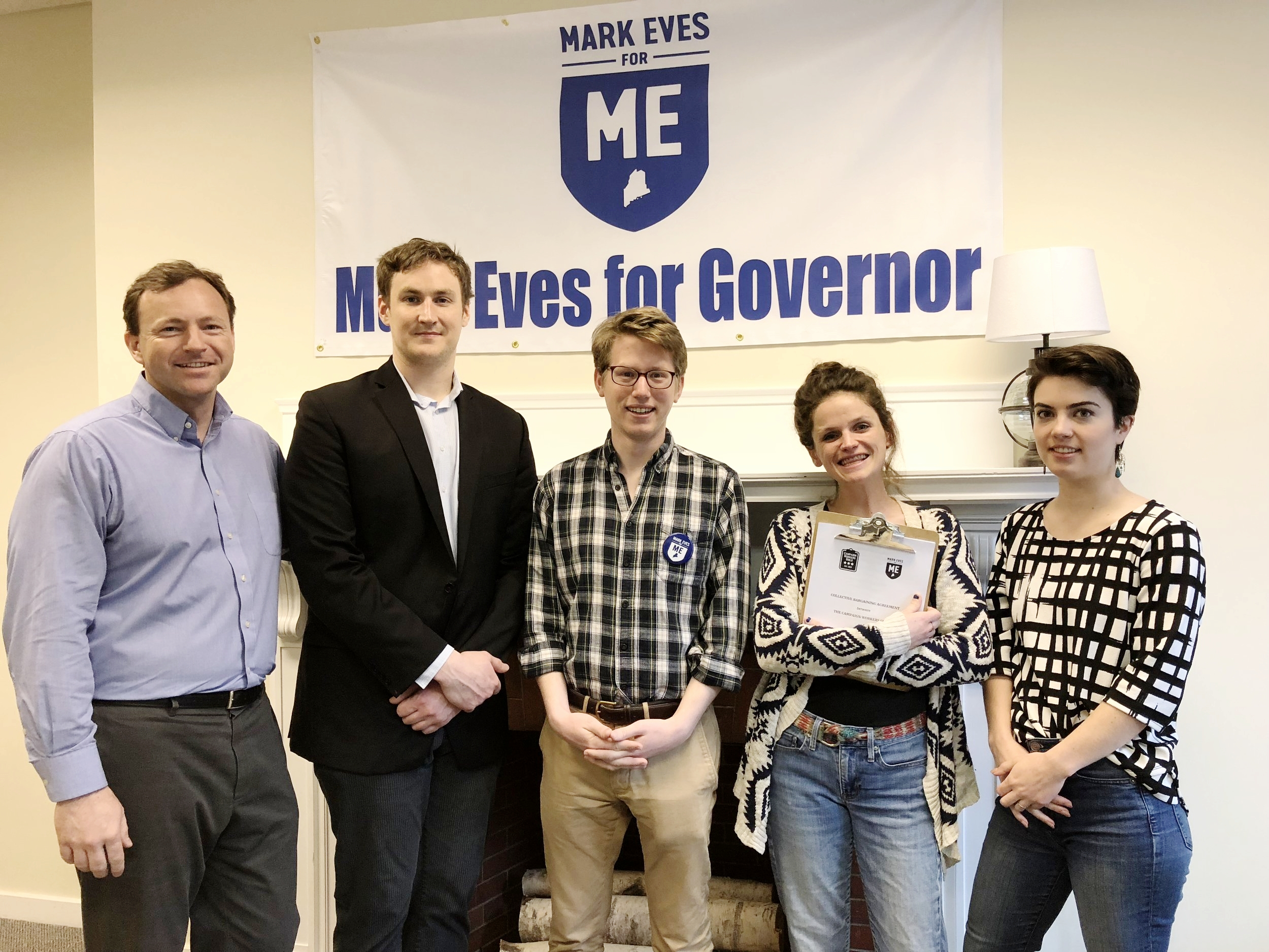 "MARK EVES FOR GOVERNOR - ""I'm proud to be a part of a campaign that's actually living Democratic values, and not just talking about them,"" said Claire Cummings, Field Director for Mark Eves, a candidate running for Governor of Maine."
