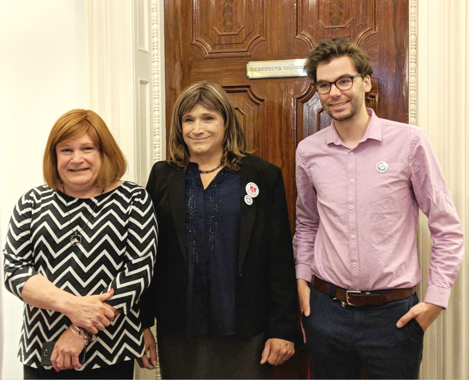 CHRISTINE HALLQUIST FOR GOVERNOR - On May Day, staffers for Christine for Vermont announced the ratification of a contract that included a living wage, healthcare benefits, and paid family leave, a first for a Vermont gubernatorial campaign.