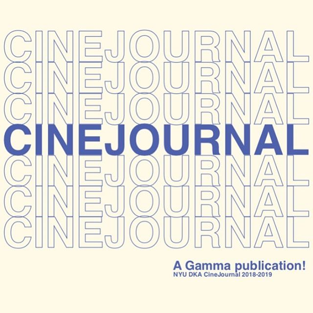 Extra extra read all about it! This is our final reveal of our 2018-2019 CineJournal cover! We are so excited to share it with you.