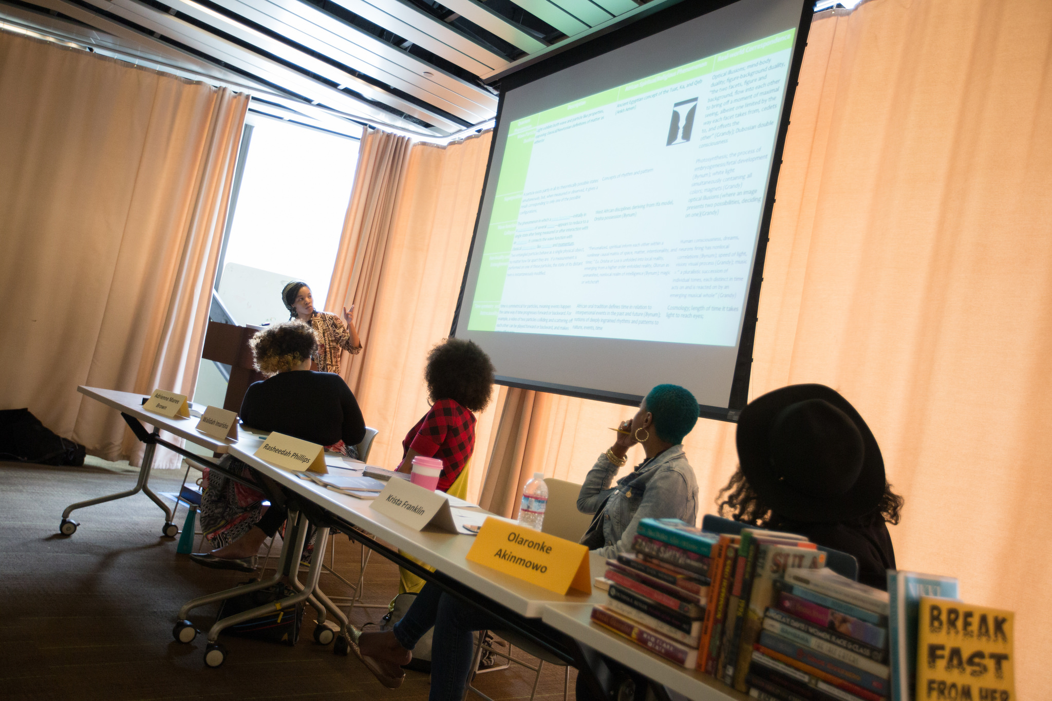 Applications of Black Feminist Thought Panel