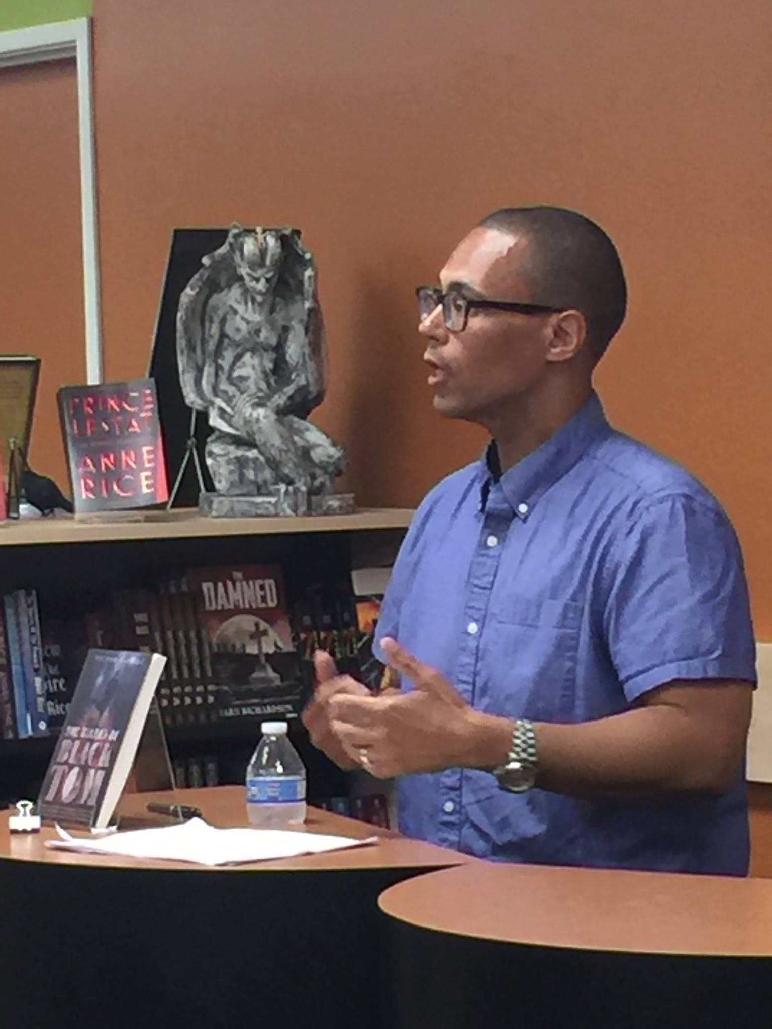 Clarion 2016 Instructor Victor LaValle reading at Mysterious Galaxy