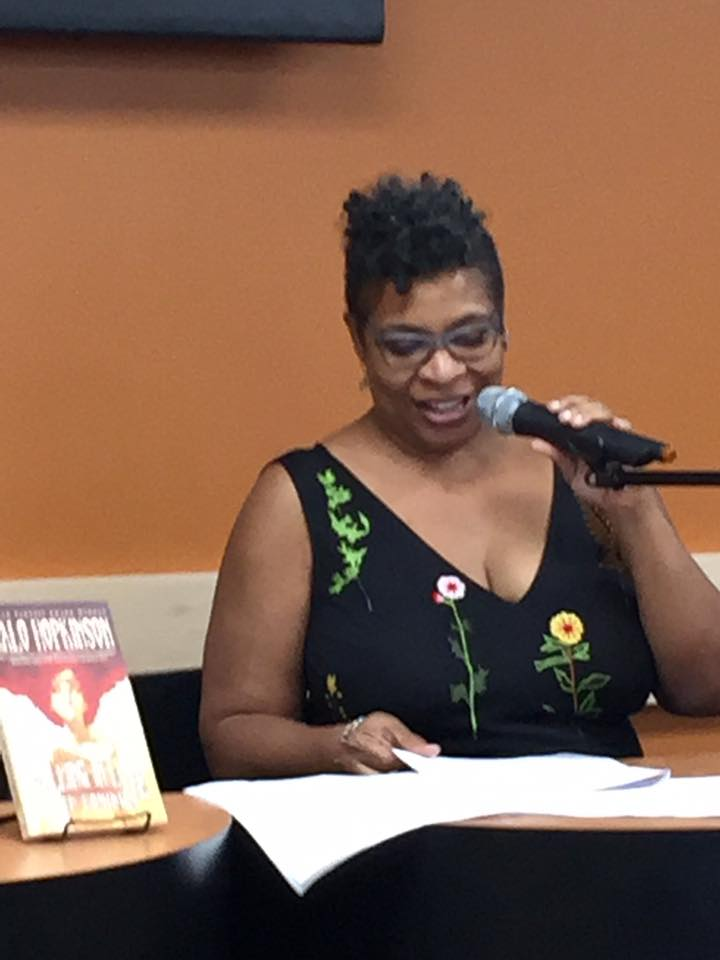 The great writer and teacher Nalo Hopkinson, who was also a Clarion student, reading at Mysterious Galaxy