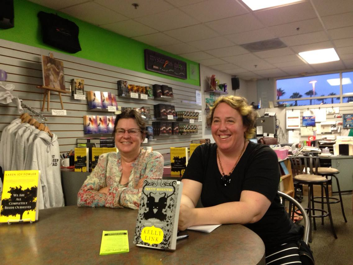 Karen Joy Fowler and Kelly Link at Mysterious Galaxy
