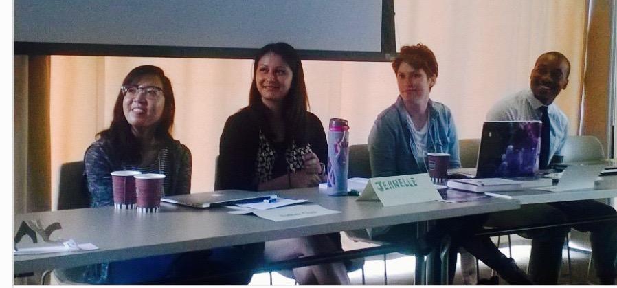 Esther Choi, Jeanelle Horcasitas, Jeanine Webb, Clayton Colmon