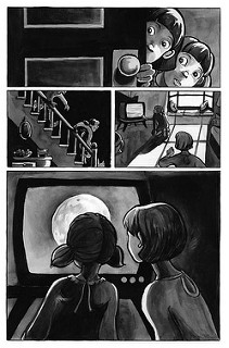 From a silent 3-page story called Small Steps.