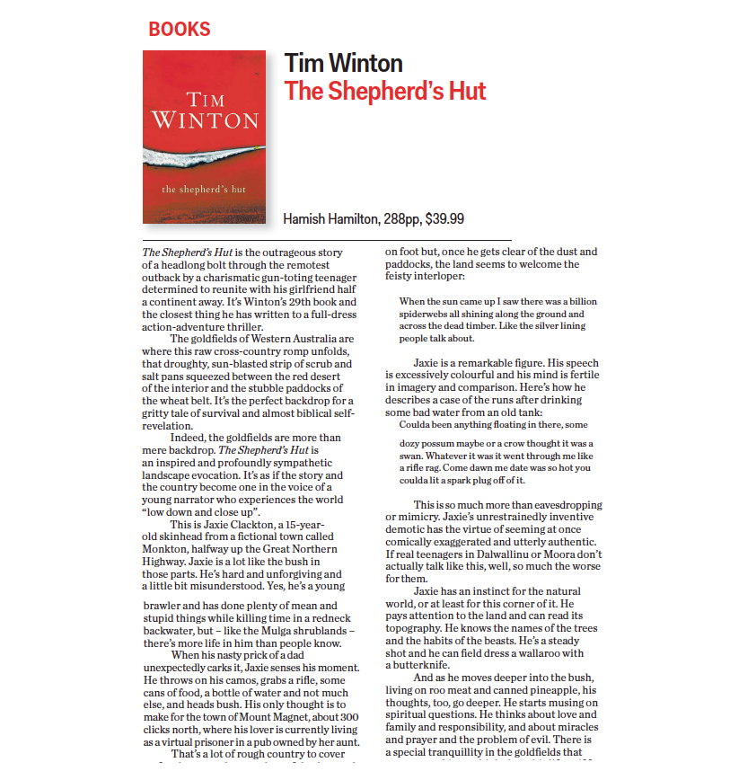 1 The Saturday Paper, Tim Winton The Shepherd's Hut .png