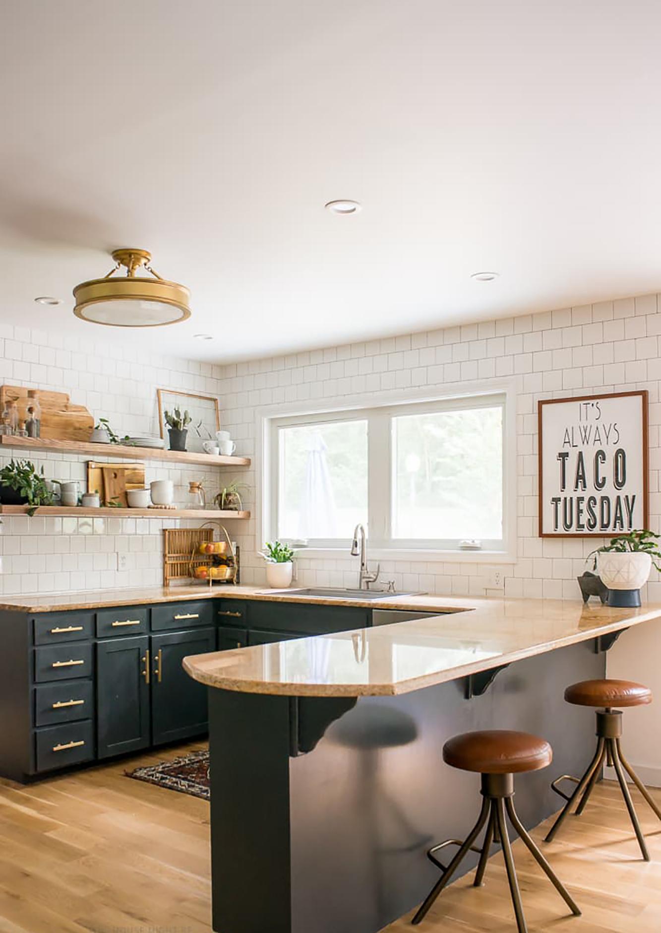 Black Kitchen Cabinets - Bigger than the Three of Us 2.jpg