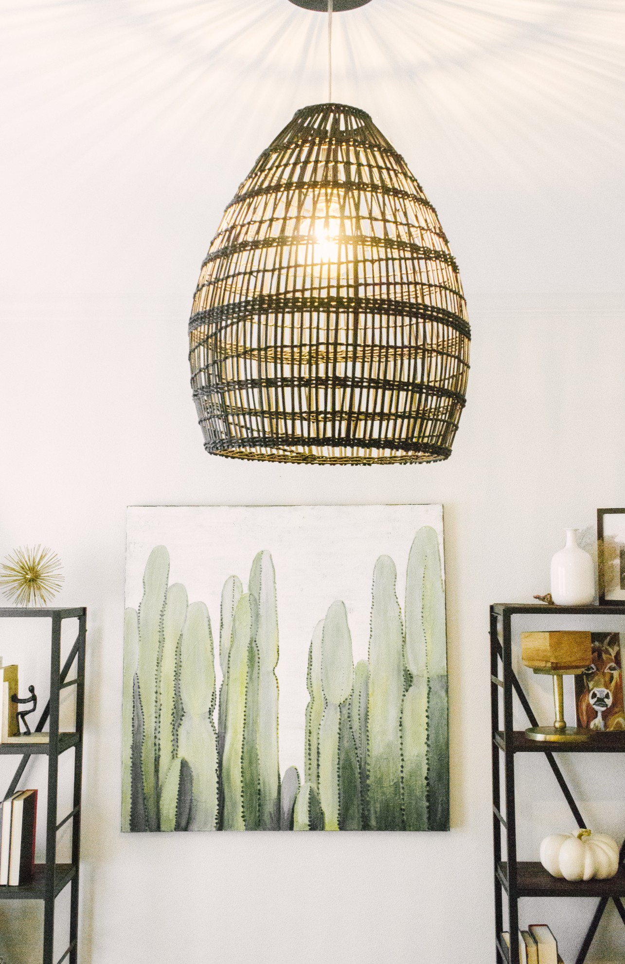 Dallas Artist Rustic Meets Modern Home Tour