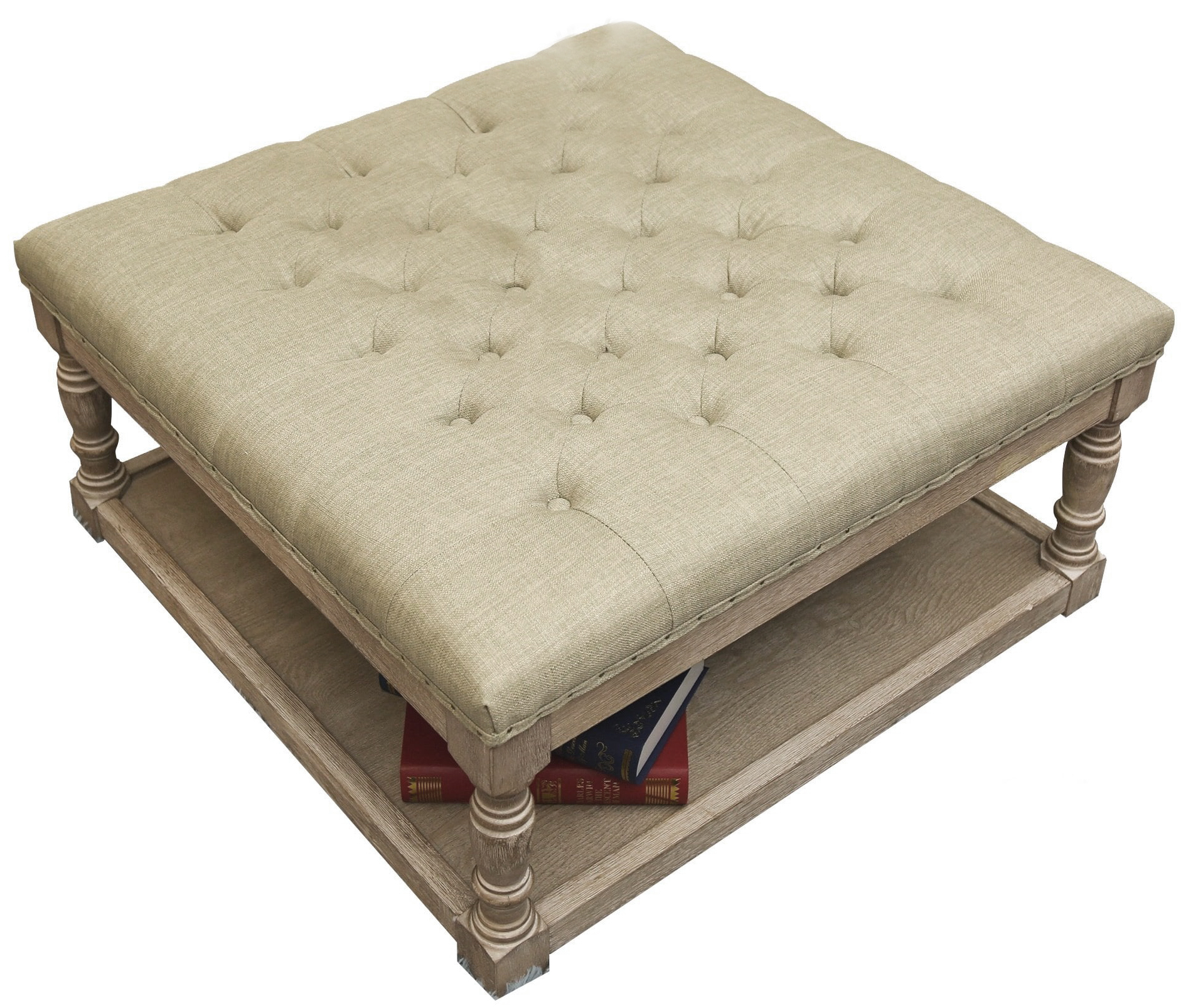 Cairona Tufted Ottoman - → SHOP IT NOW