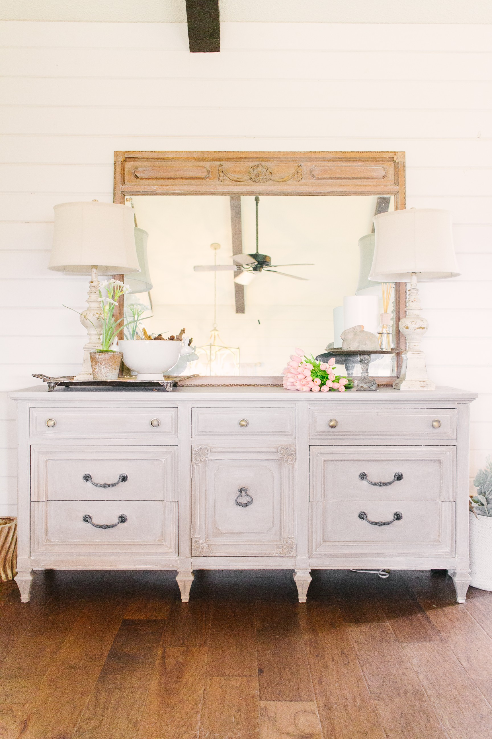 My Little White Barn Home Tour  - Spring Decor Inspiration