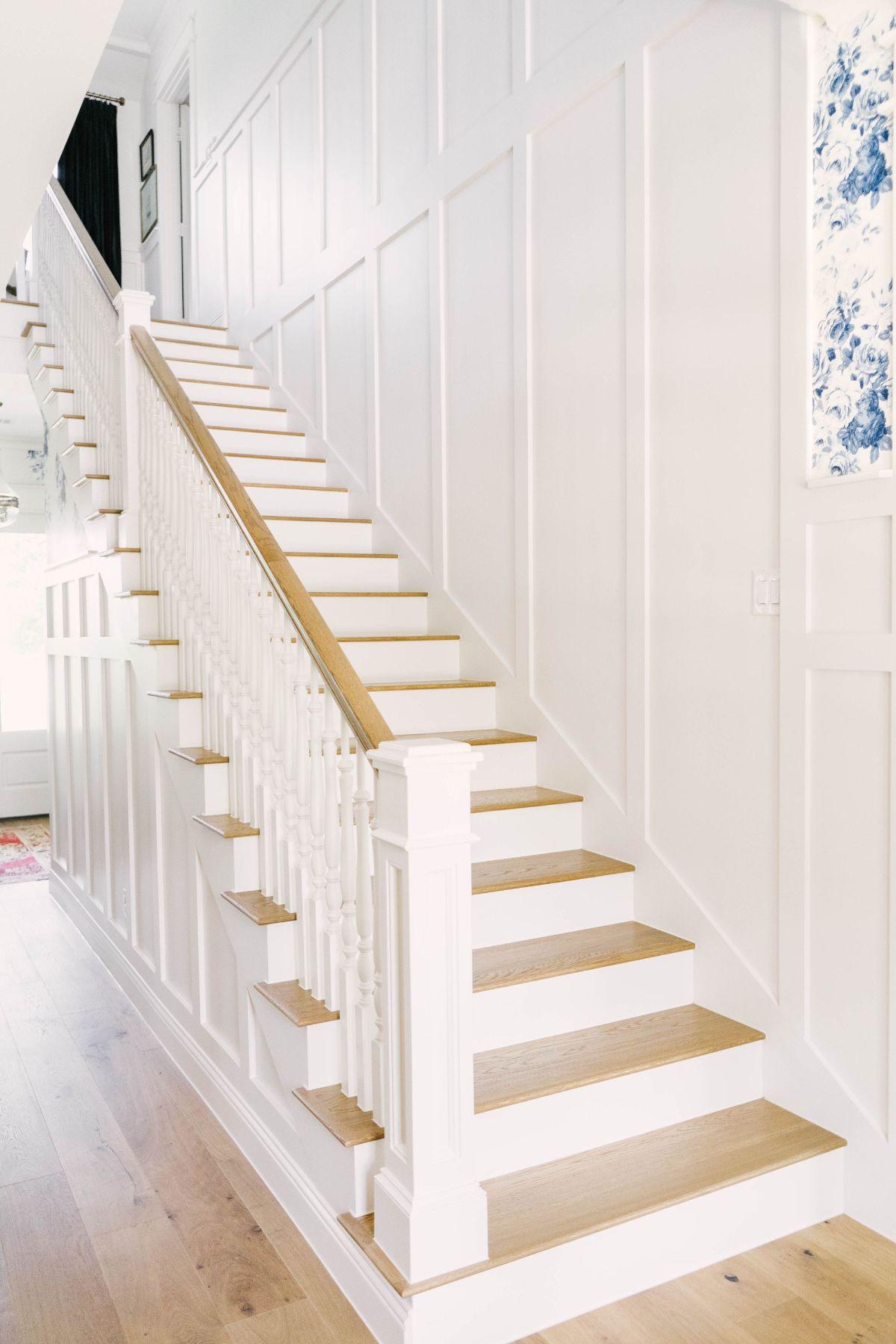 Farmhouse Board and Batten Stairway