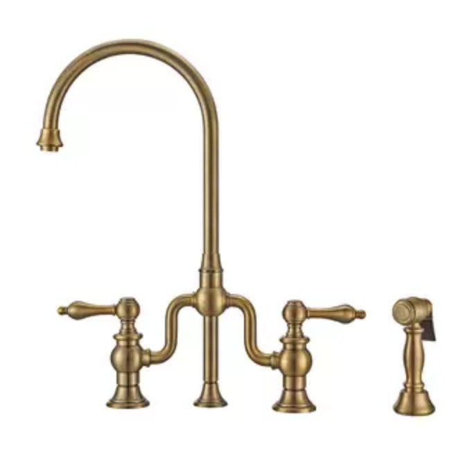 Gold Vintage Looking Kitchen Faucet copy.jpg
