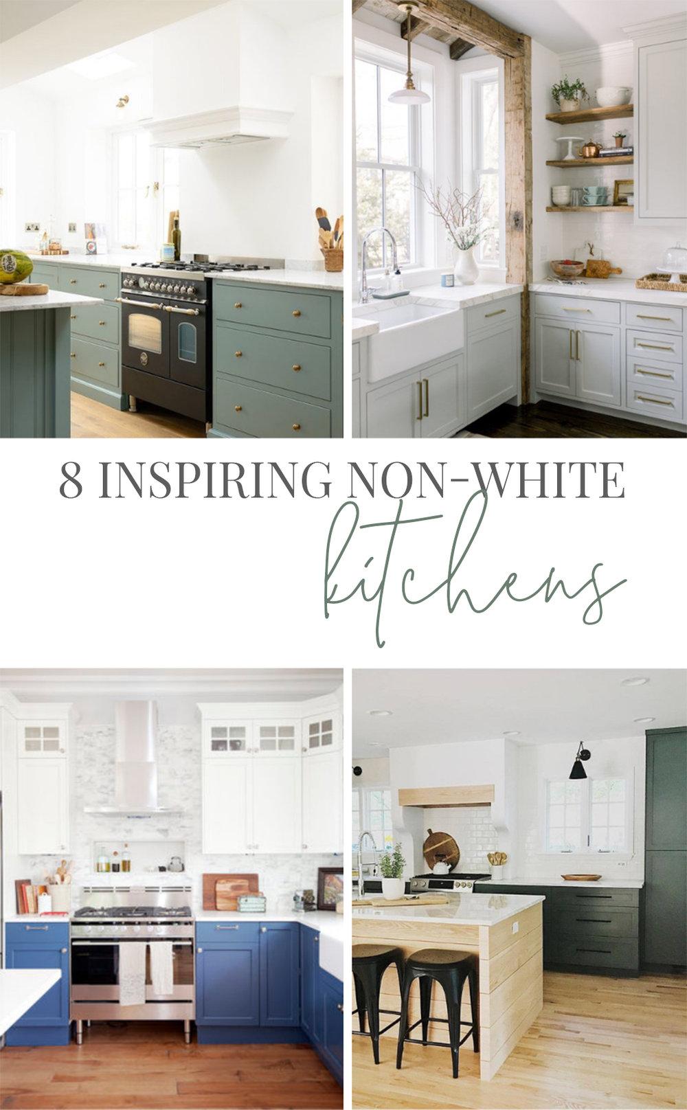 9 Inspiring Non White Kitchens — Farmhouse Living