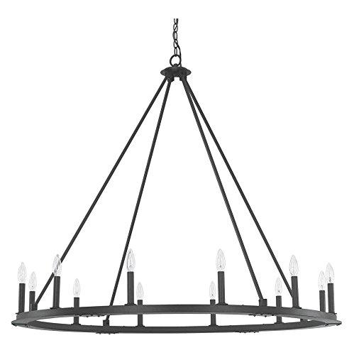 Pearson 8 Light 36 inch Black Iron Chandelier Ceiling Light.jpg