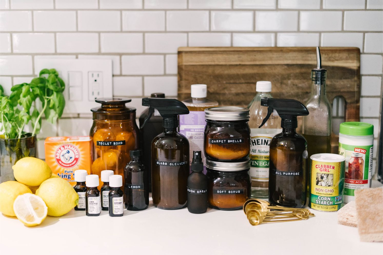 DIY Cleaning Supplies All Natural