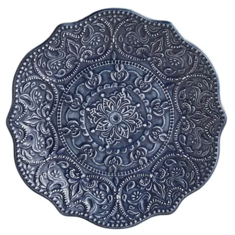 Navy Scalloped Salad Plate.png