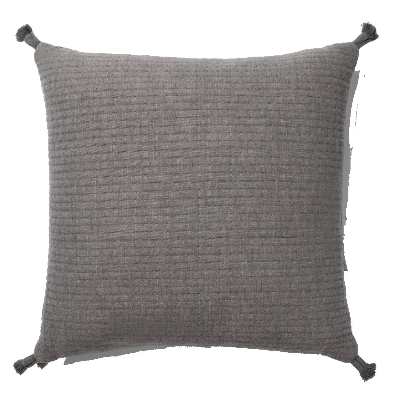 Gauze Texture Square Throw Pillow Gray + Nate Berkus - Project 62™.png