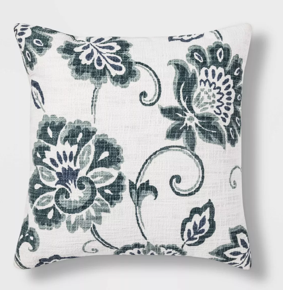 Jacobean Printed Square Pillow.png