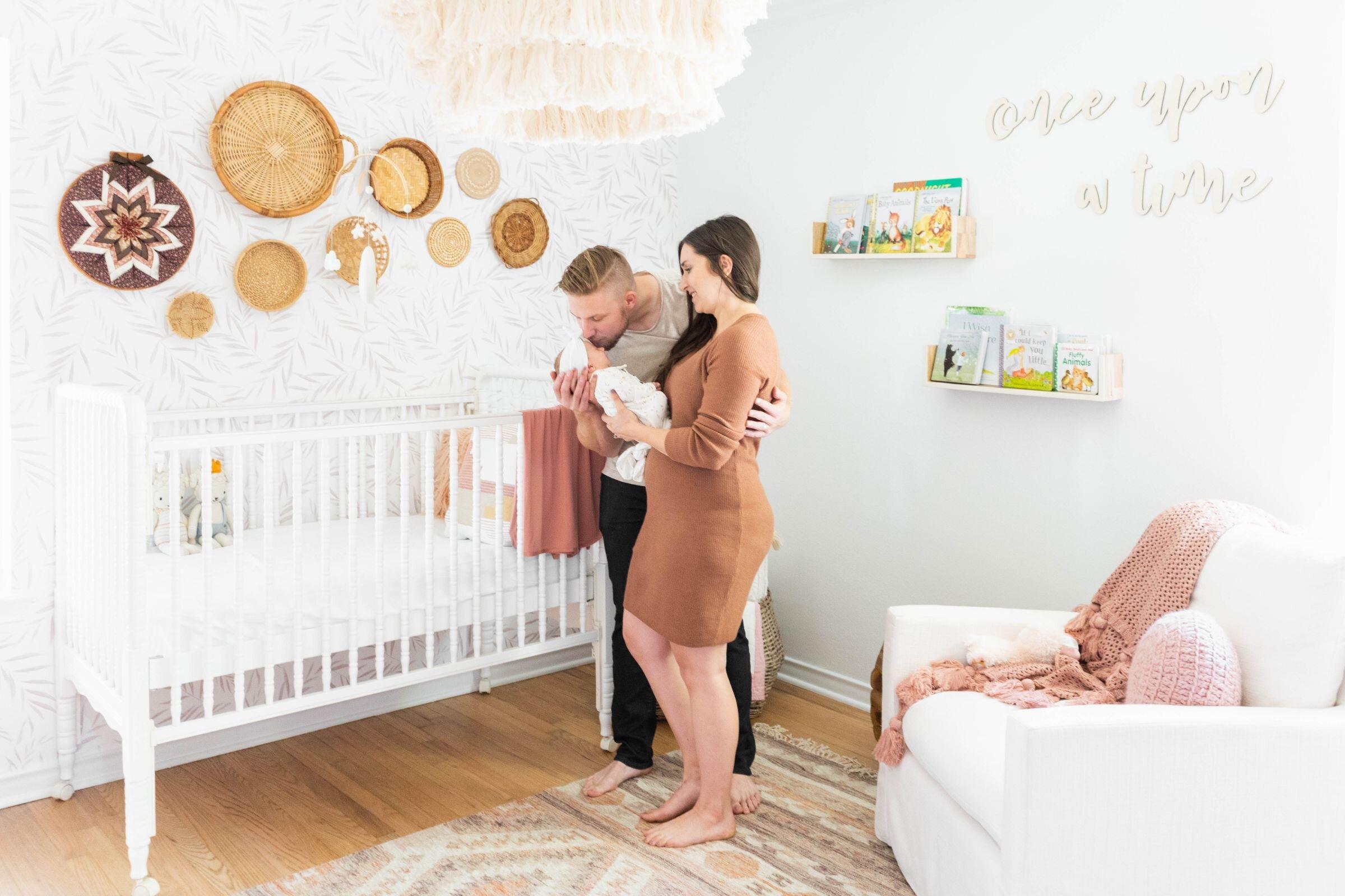 Baby Girl Nursery - Boho Vintage - Baby Quinn