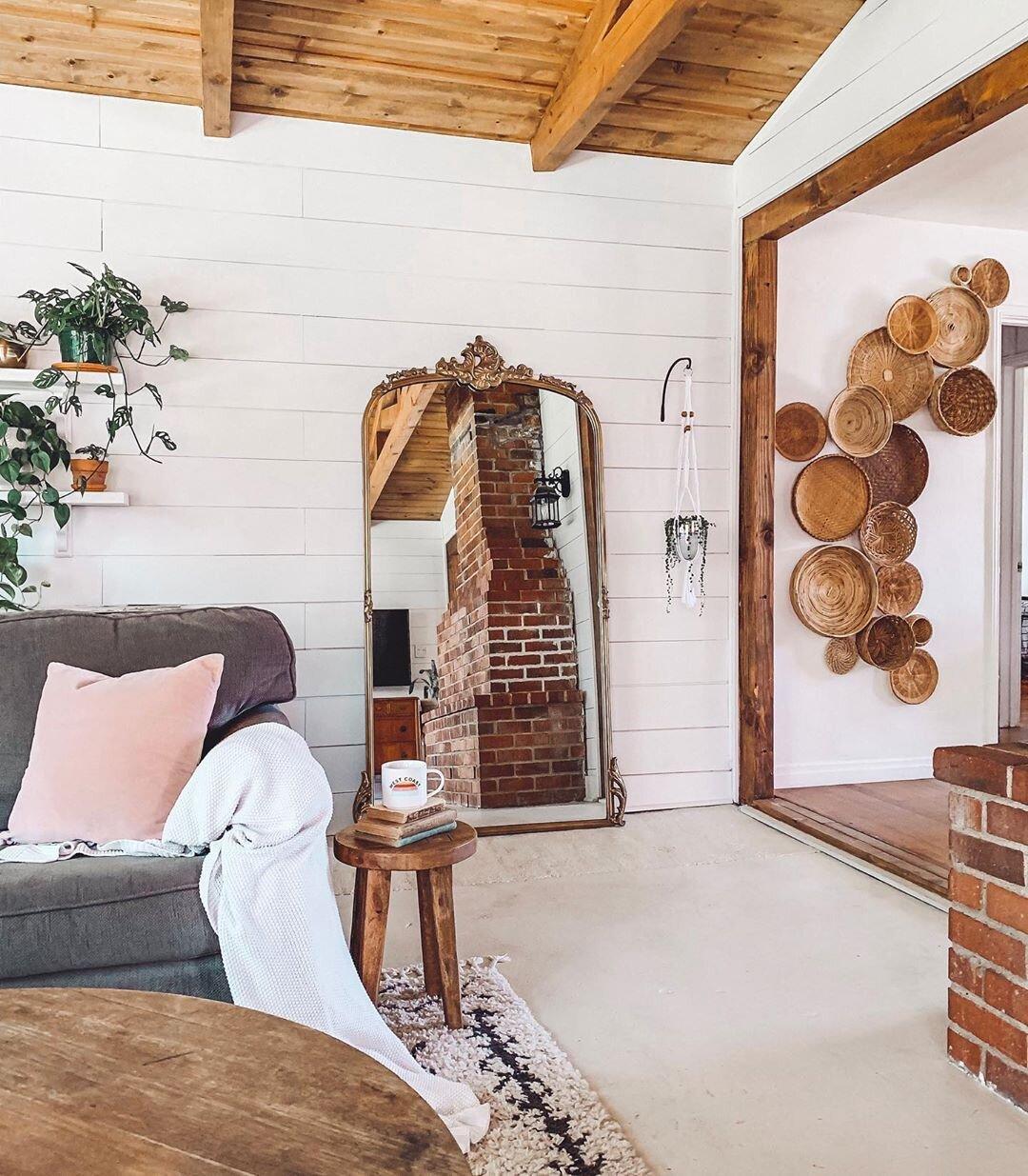 Basket Wall - Boho - RusticPallete