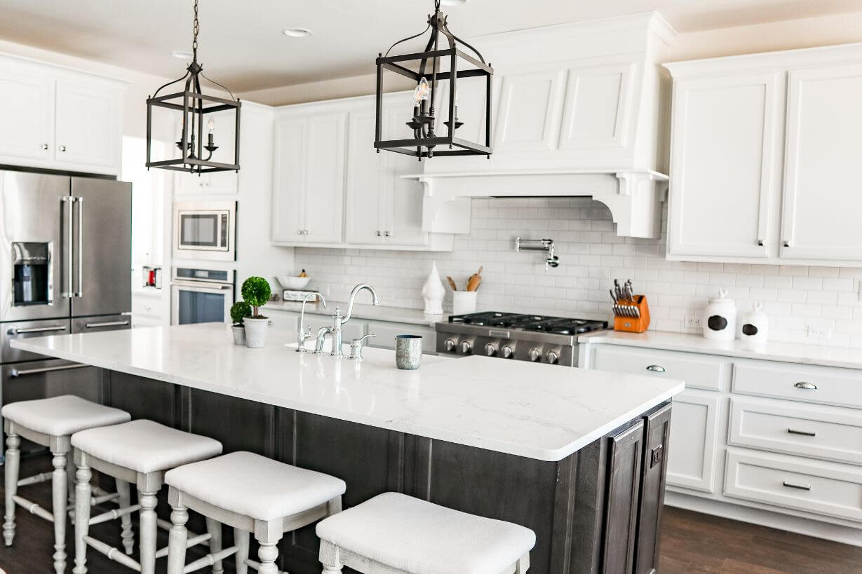 New Build Modern farm Home Tour with Holly Christian Hayes 27 - Kitchen.jpg