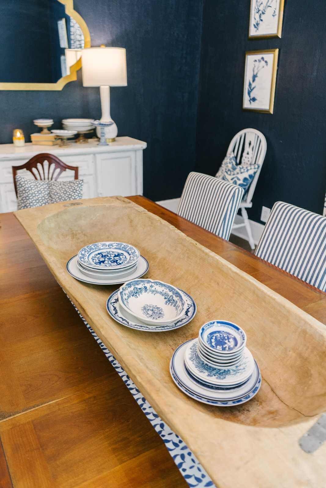 Thistlewood Farms Home Tour-有110年历史、风格优雅的农舍-海军餐厅8.jpg