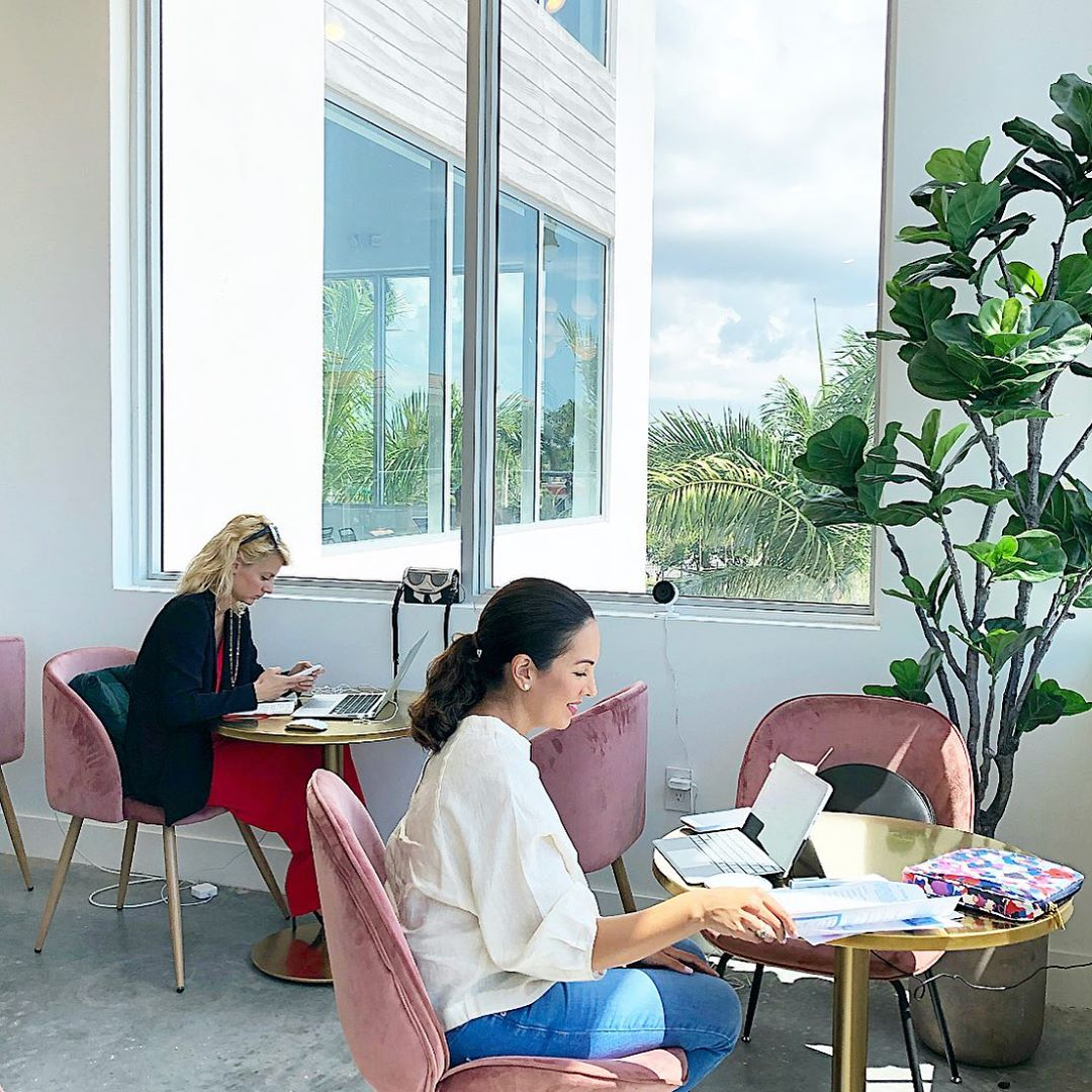 The Emery Workspace Social Club for Women Miami